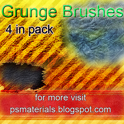new grunge brushes by vishalrokez