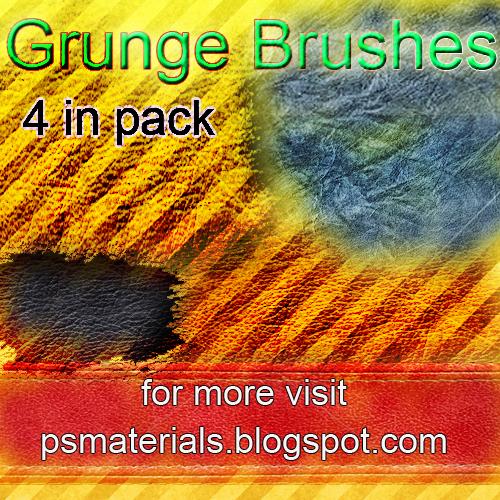 new grunge brushes by vishalrokez