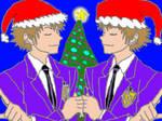Hikaru and Kaoru are Ready for Christmas