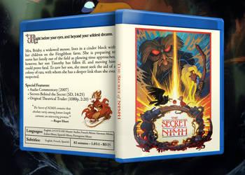 The Secret of NIMH custom Blu-Ray cover by Nazadel