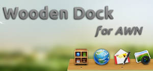 Wooden Dock for AWN
