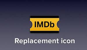 IMDb replacement icon