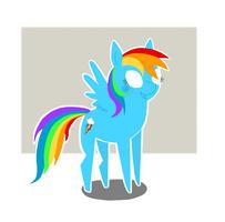 Rainbow Dash by JellyBeanBullet