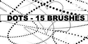 Dots Brush Pack by Amberfresh by Amberfresh