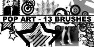 Popart BrushPack by Amberfresh by Amberfresh
