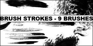 Brush Strokes BrushPack by Amberfresh