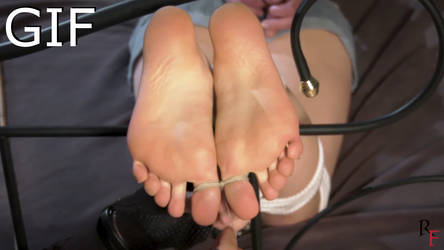 Bondage girls tied up and getting toe tied 6
