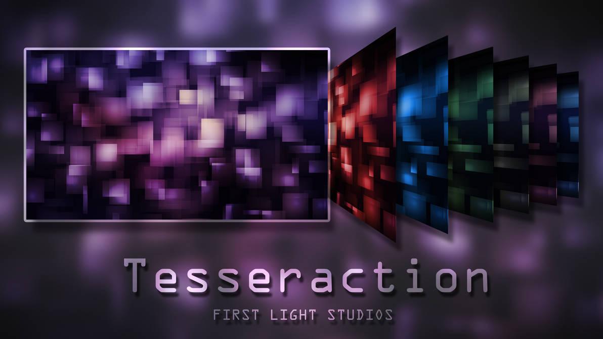 Tesseraction Wallpaper Pack by FirstLightStudios