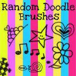 Random Doodle Brushes by VogueGirlDesigns