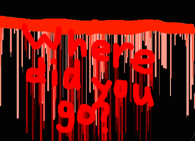 W h e r e  d i d  y o u  g o ? by Rainheart201