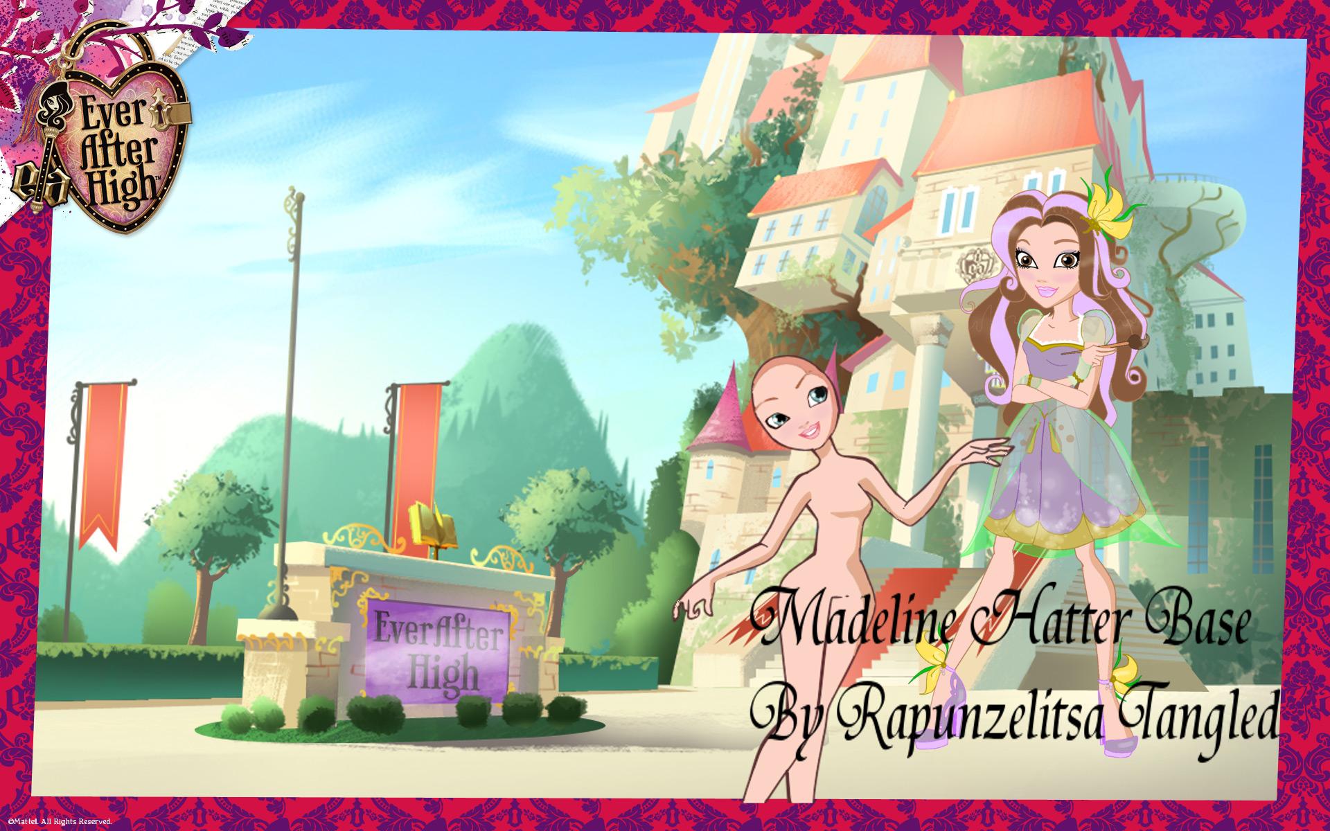 Ever After High base: Madeline Hatter by RapunzelitsaTangled