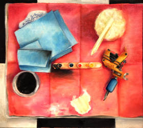 My Tattoo Station STILL LIFE by JopieLee