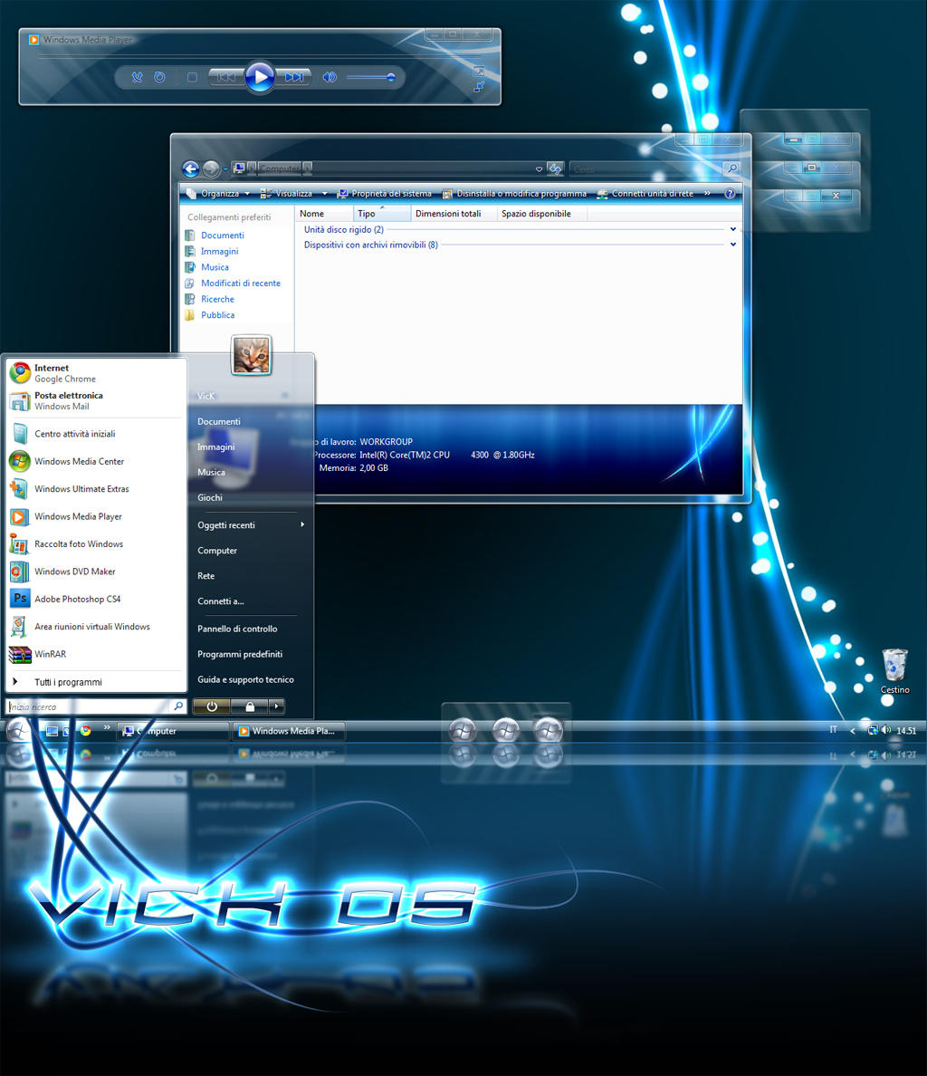+MOD+  VickOS Theme v.1 by VicK88