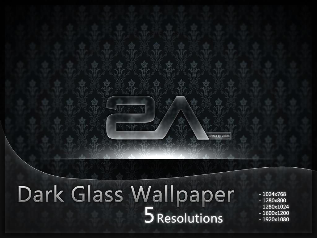 +MOD+  Dark Glass Wallpaper