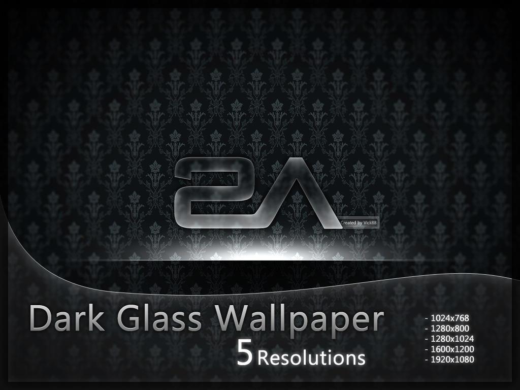 +MOD+  Dark Glass Wallpaper by VicK88