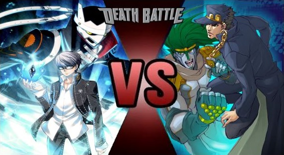 Death Battle Prediction:Yu Narukami vs Jotaro Kujo by ultraguy9000 on DeviantArt