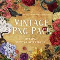 Free Vintage Png Pack