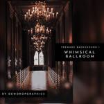 Whimsical Ballroom | Premade Background