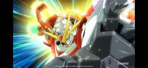 Gundam Try Fighters Island Wars GIF
