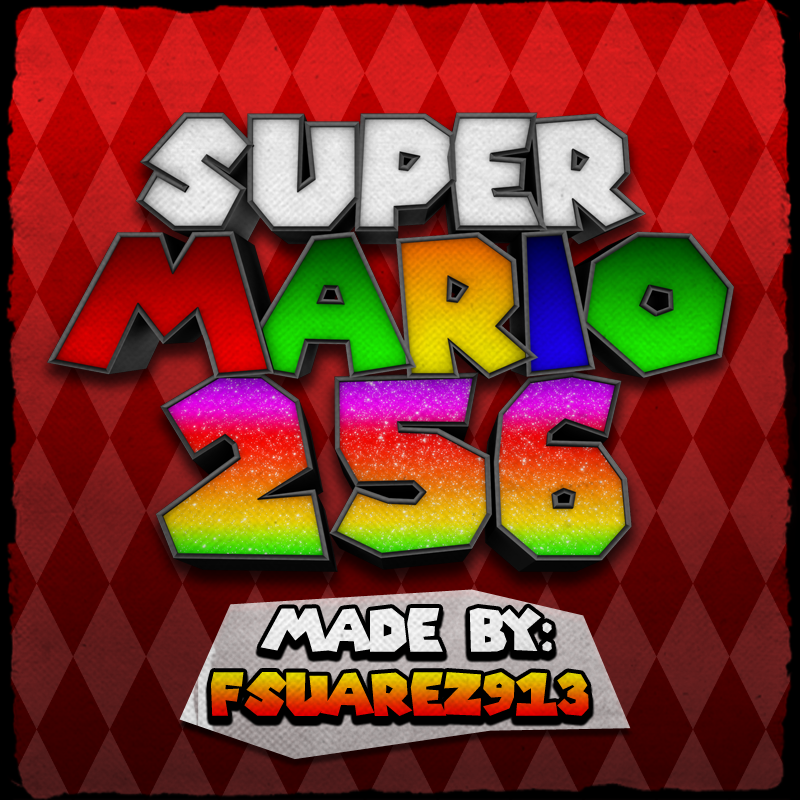 Super Mario 256 FONT by fsuarez913