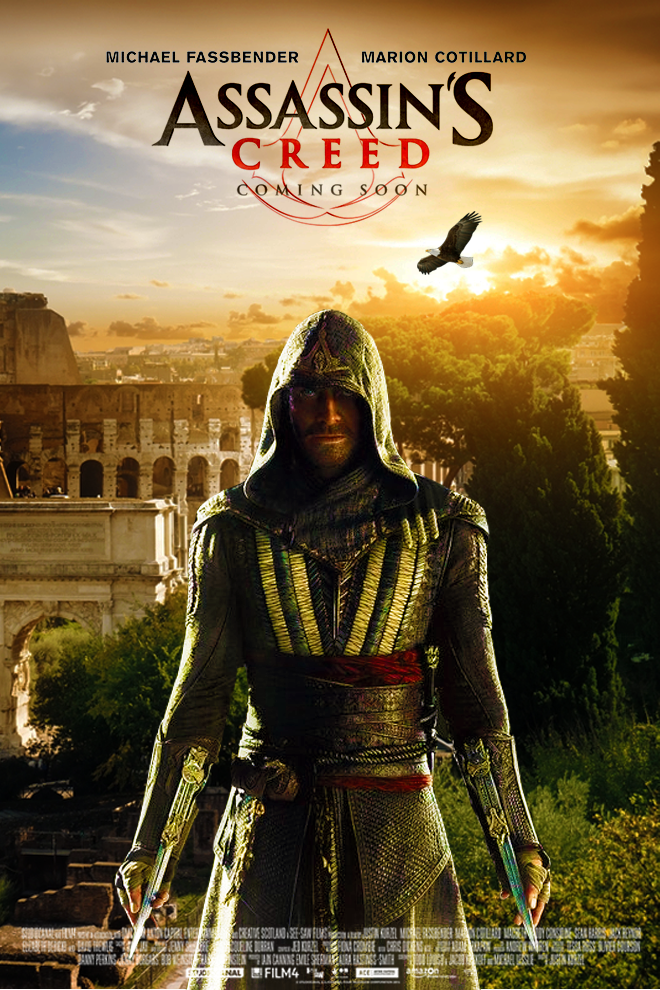 Assassin S Creed Movie Poster By Dcomp On Deviantart