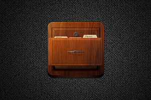 iFile Alternate Icon for Jaku by kevinhamil