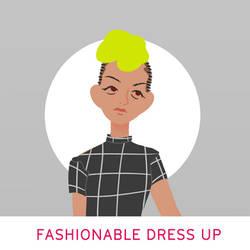 Fashionable Dress Up Game by SureJan1