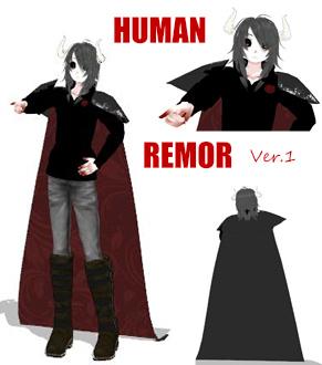 MMD DL model HUMAN REMOR ver.1 by RaikuFreiheid-Tod