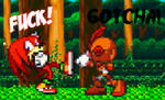 Knuckles vs Emerl Preview