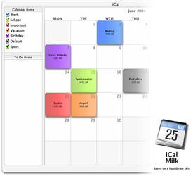 iCal Milk by rayan