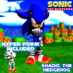Shadic the Hedgehog (XNALara Model)