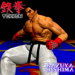 Kazuya Mishima (Tekken 1) (Xnalara Model) by BrutalSurge402X