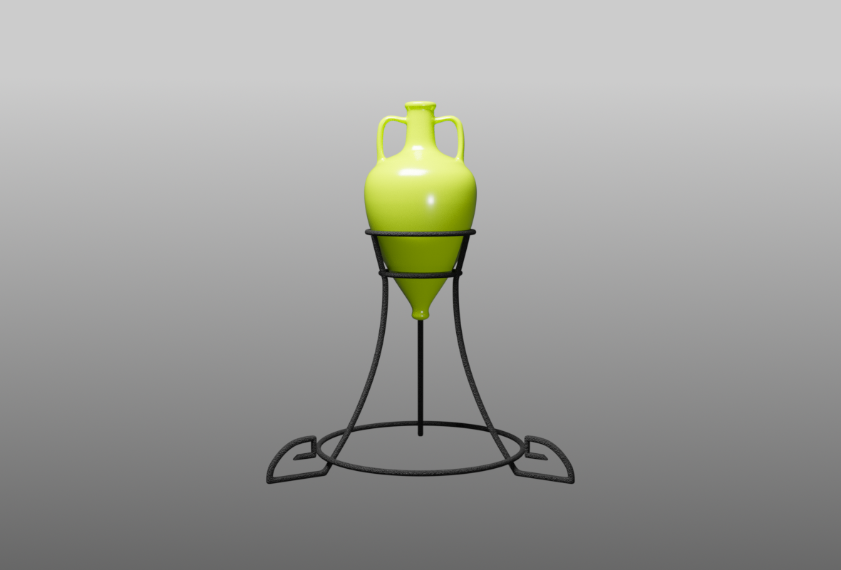 Thasos Amphora 1.0a  3D Blender model