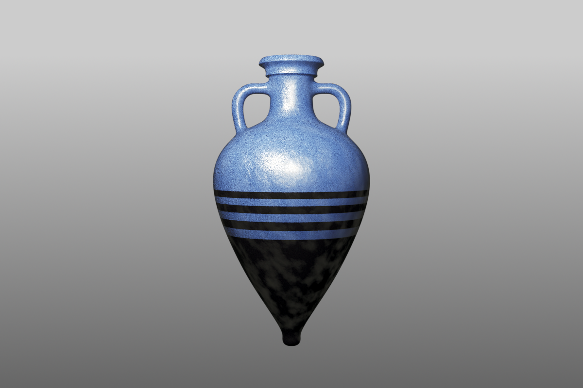 Puig Des Molins Amphora v1.0a 3D Blender model