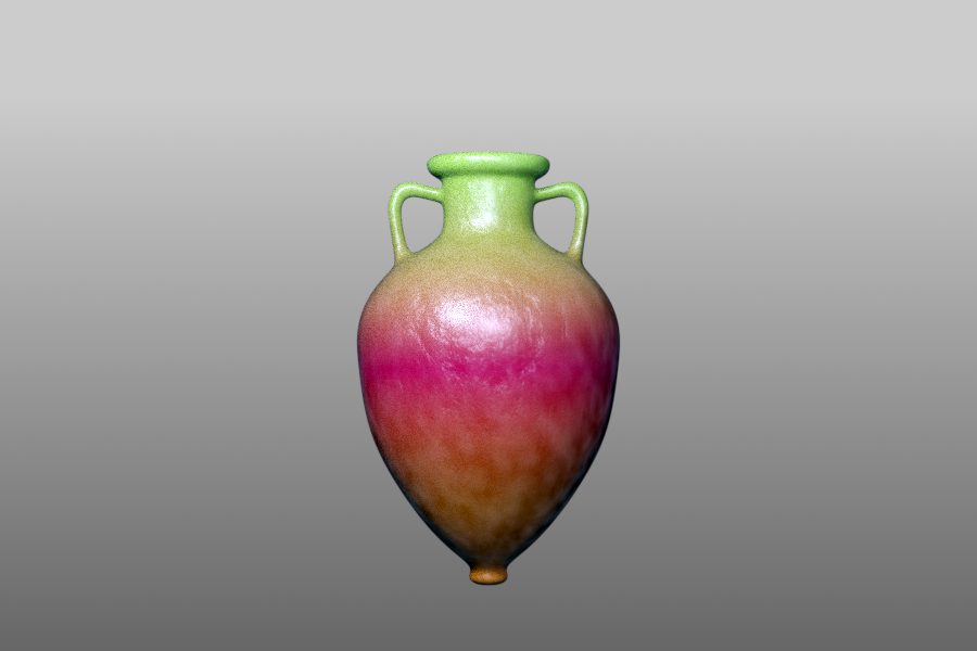 Sisam Amphora 1.0d 3D Blender model