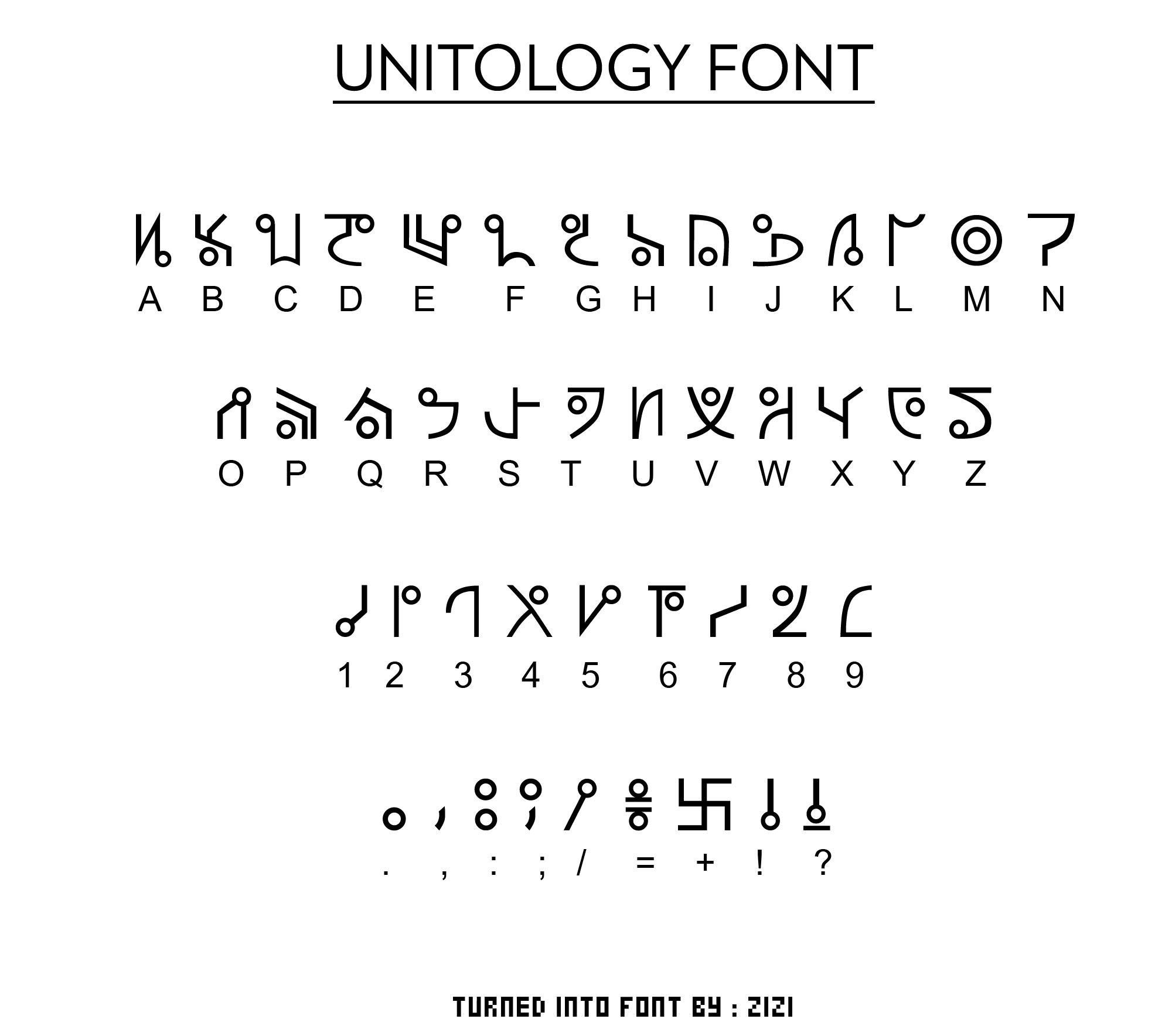 UNITOLOG Font - Dead Space by zizi2008 on DeviantArt