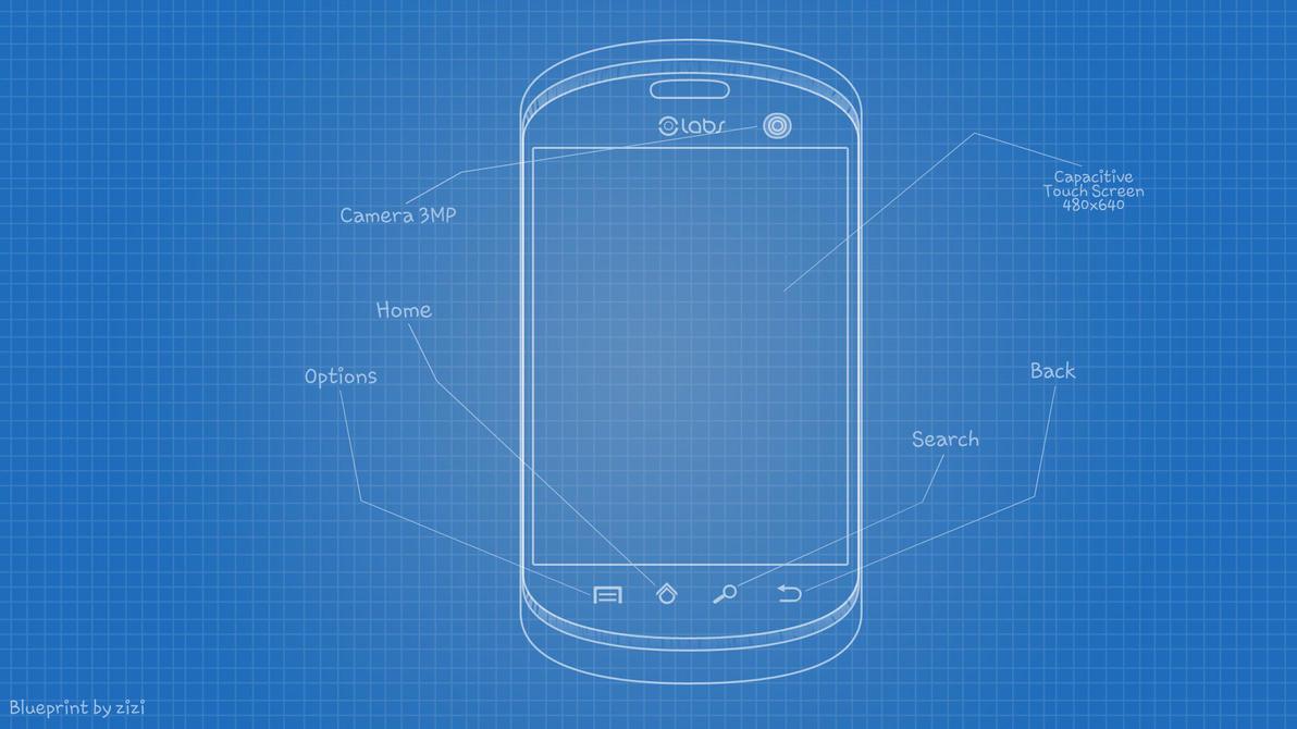 My phone design blueprint by zizi2008