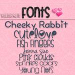 Pack de Fonts
