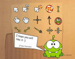 Cut the Rope Cursors, ver.1