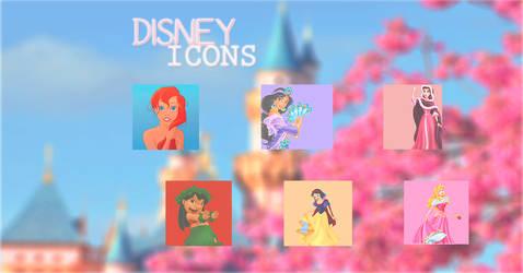 Disney Icons by DisasterOfACloset