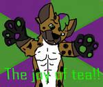 The joy of tea!! for Nos Hyena