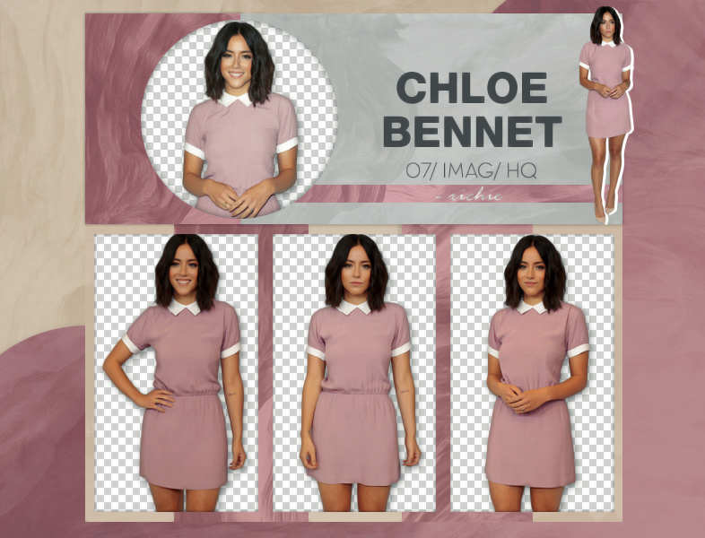 Photopack Png Chloe Bennet 02 by Ricardo-Swift22