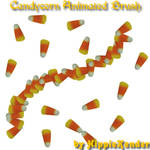 Candycorn Animated GIMP Brush
