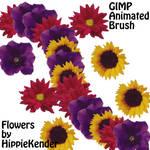GIMP Flower Brush