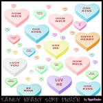 Candy Heart GIMP Brush
