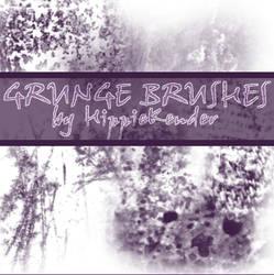 GIMP Grunge Brushes
