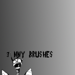 Nny GIMP brushes by InvaderKuro
