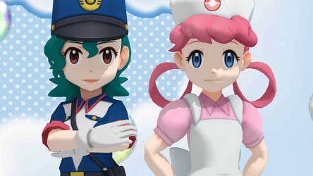 Trainer Pack 2 - Jenny and Joy by GuilTronPrime