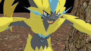 Zeraora Pokemon Ultra Sun and Moon HD Rebuilt