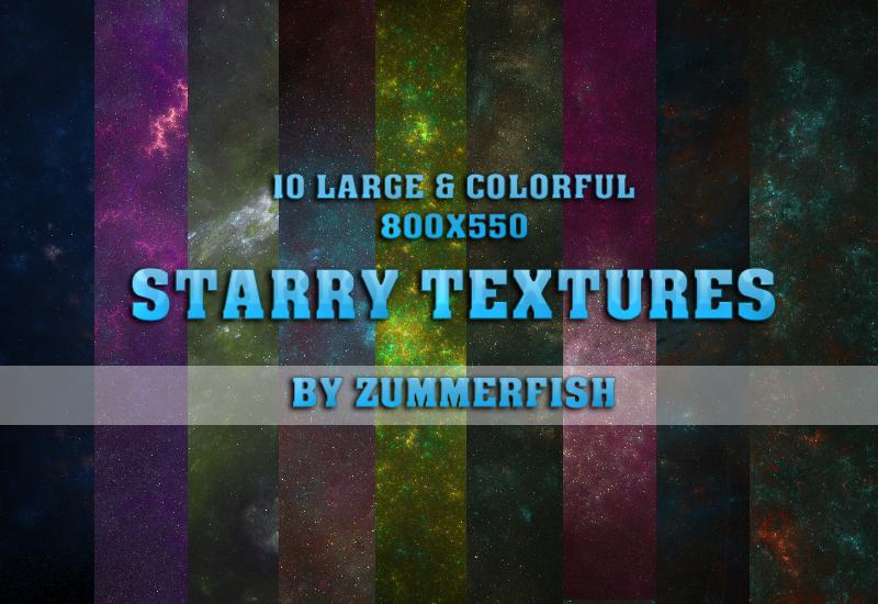 Starry textures by zummerfish